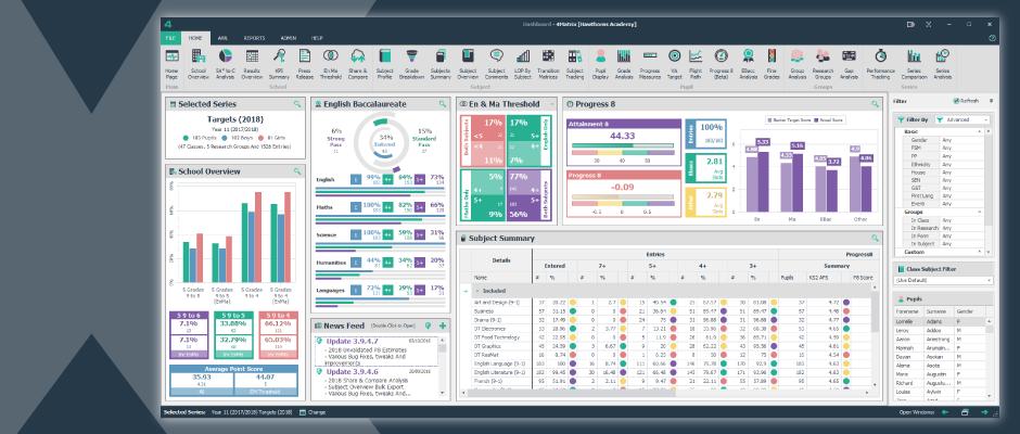 4Matrix Desktop: The Professional Data Solution